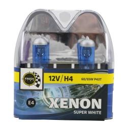 SET ŽARULJA H4 XENON WHITE