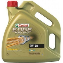CASTROL EDGE 5W40 4L TURBO...