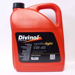 DIVINOL SYNTHOLLIGHT 5W40 4L